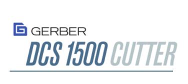 GERBER DCS1500 CUTTER