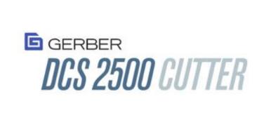 GERBER DCS2500 CUTTER